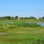 Окраина села Клинцовка
